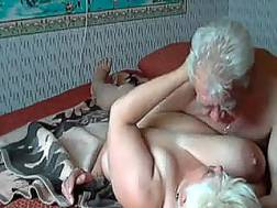 Old couple having