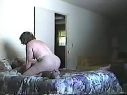 wife penetrates cowgirl position