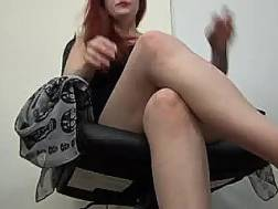 Red-haired sex freak