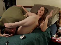 husband licking