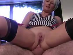 mother enjoys dick butt