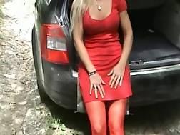 busty blonde girlfriend