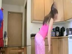 horny amateurs bang kitchen