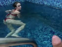 sweet pecker blowing pool