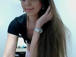 black brunette cam