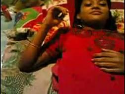 dark skin young indian