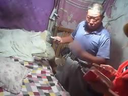older chinese buddy fuckin