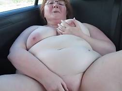 back bbw car fat