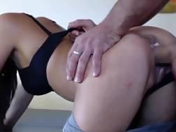 making butt pulsating prick