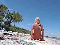 beach bikini blonde