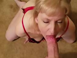 a after blonde blowjob