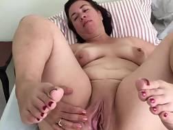 mature fat wifey spreading