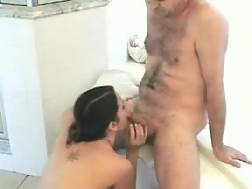 bathroom couple