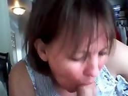 mom enjoys blowjob