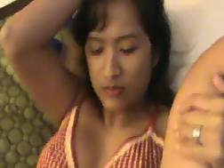 asian mother getting