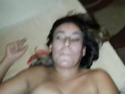 jizz shot wifes mouth