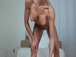 fit brunette bombshell naked