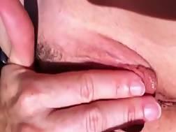 finger pink vagina