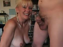 wondrous ugly mature blonde