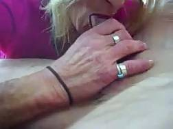 Sleazy mature blond