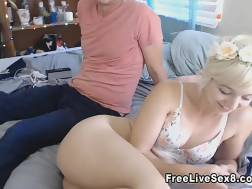 Young hot couple