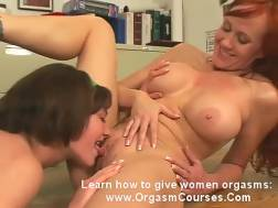 Redhead mamma with