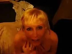 Blondie MILF gets