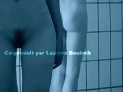 Public shower spy