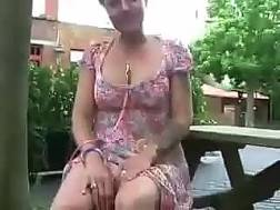 british mature slut exposing