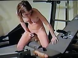 a ex gym her home