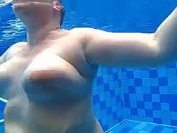 a bathing chubby