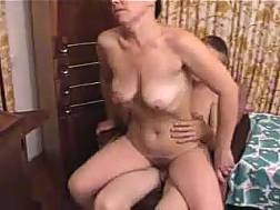 nerdy short-haired mom suck
