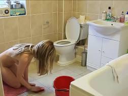 bathroom blond blonde