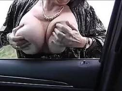 filthy hooker shows jugs
