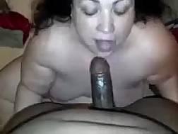black blowing cock