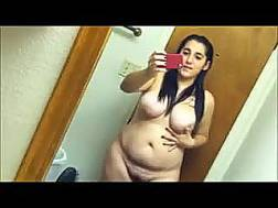 black brunette chubby