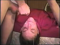 big cum down facial