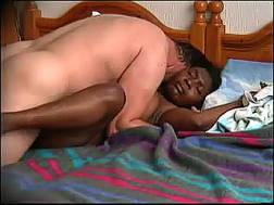 black mamma prostitute eats