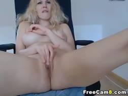 blonde blondie cunt