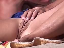 a beach fingered