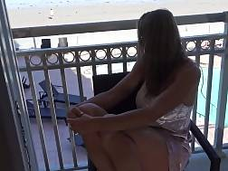 & and balcony blonde