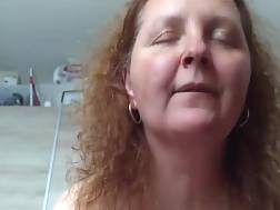 chubby mature wife enjoys