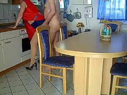 playing mature slut kitchen
