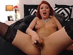 Passionate redhead