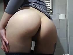 bathroom cums cunt