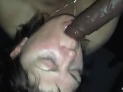 Brunette mamma sucking