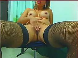 Curvy mother moans