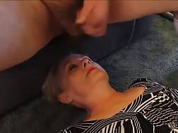 facial nasty submissive wifey