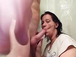 a bathroom blowing