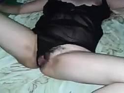 hairy latina slut wanks